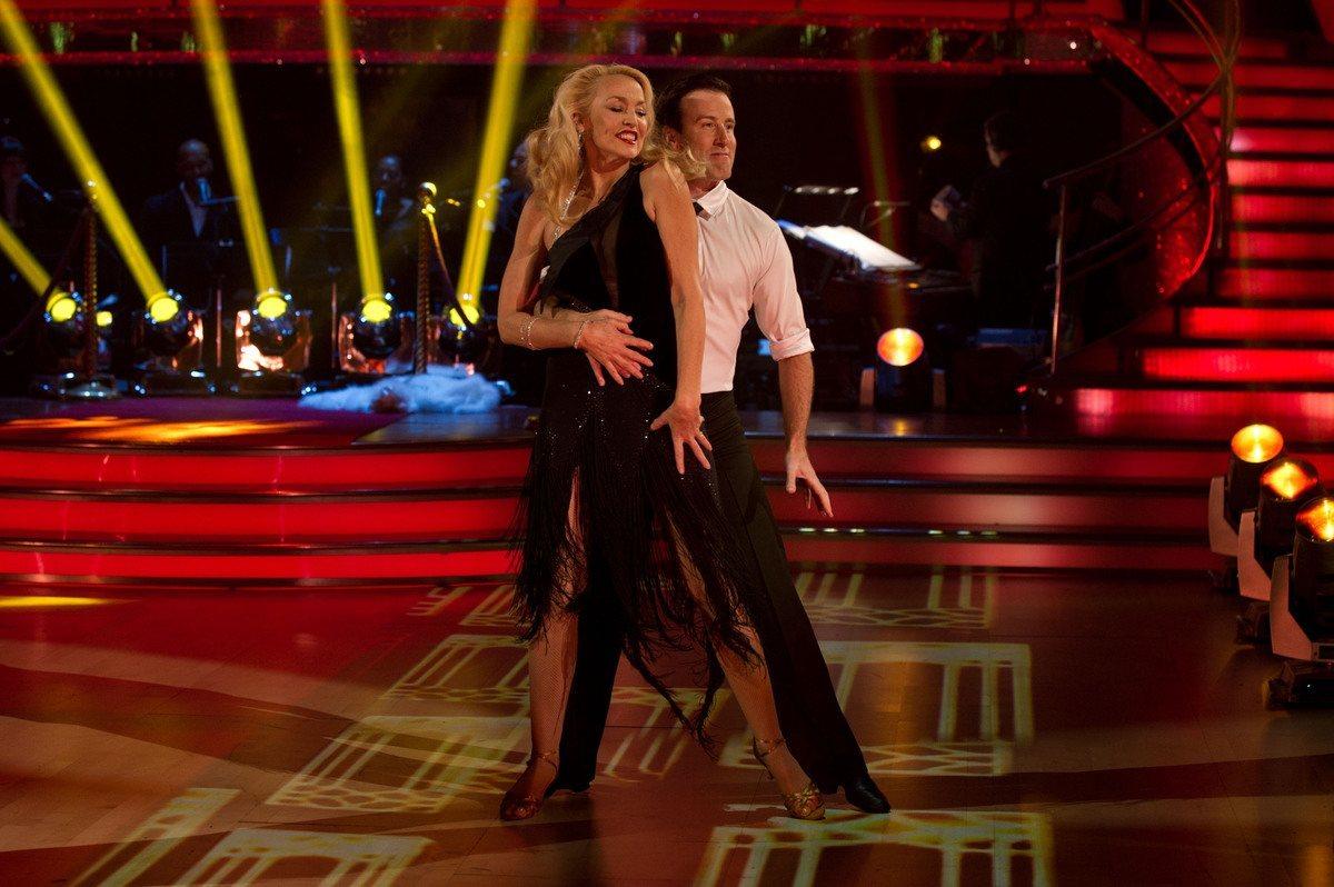 Джерри Холл Strictly Come Dancing