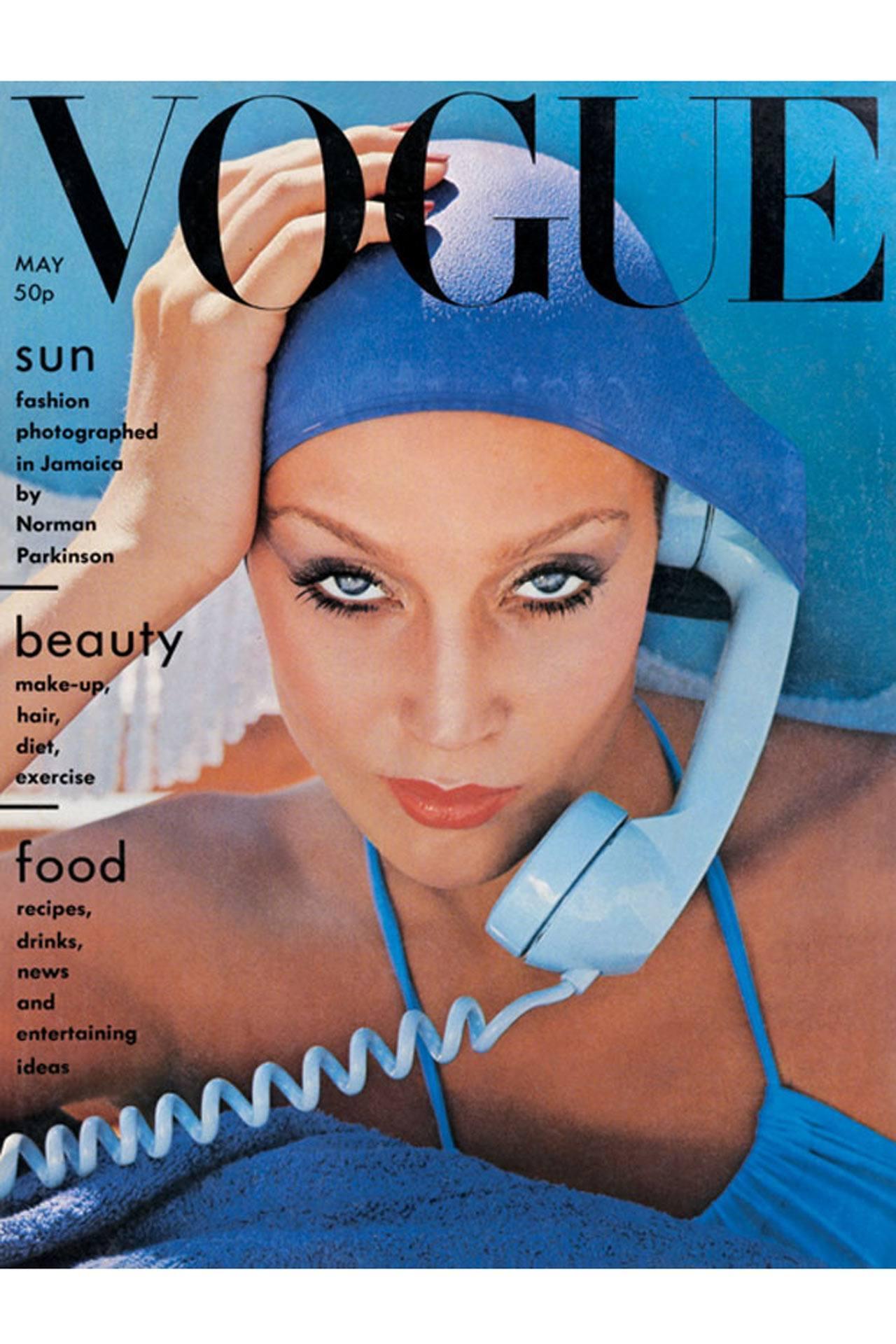 Джерри Холл Vogue