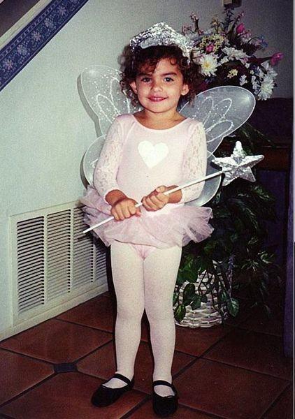 Алиса Миллер в детстве