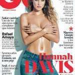 Ханна Дэвис на обложке GQ 2015