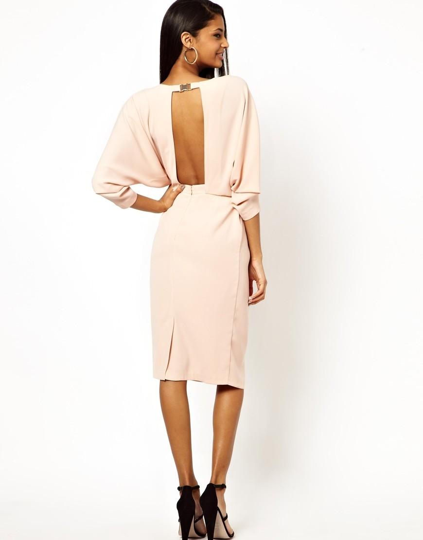 платье Oversize миди