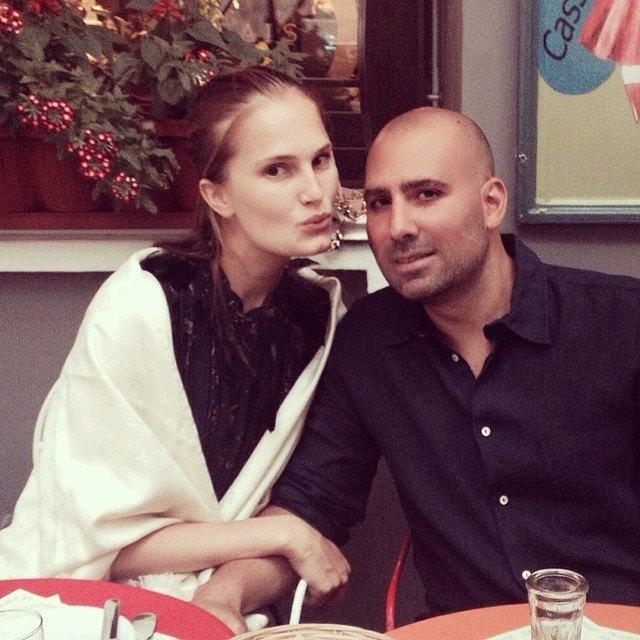 Алла Костромичева с мужем