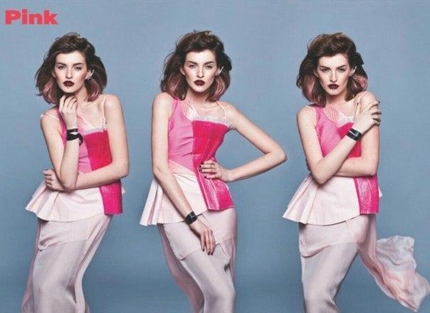 Алена Рубан для Pink