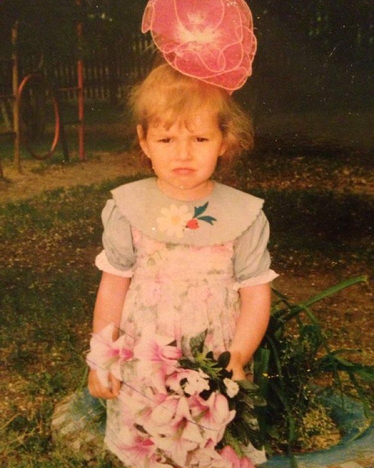 Алена Рубан в детстве