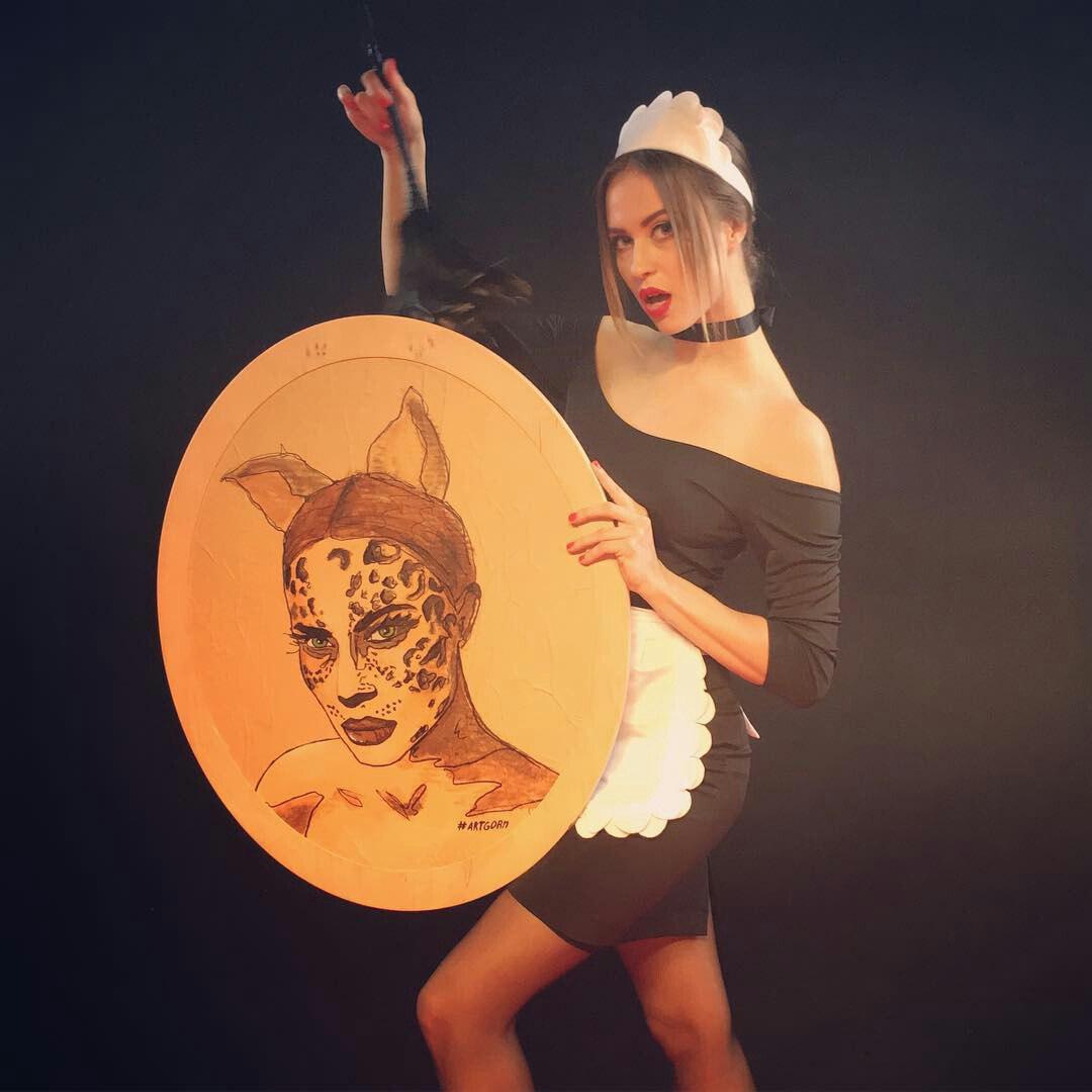 Виктория Маремуха в клипе