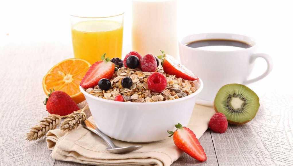 рецепт завтрака мюсли