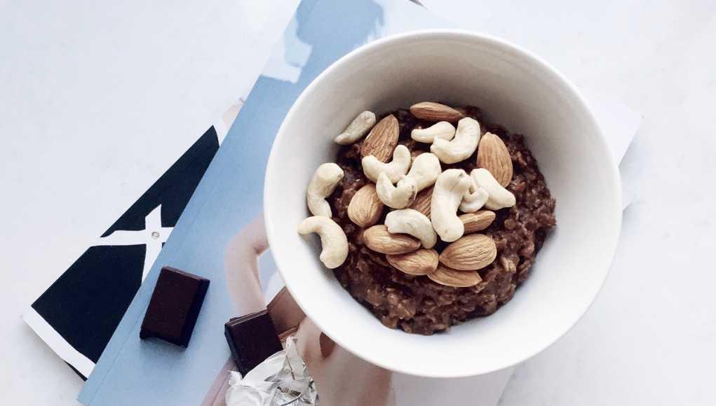 рецепт завтрака овсянка