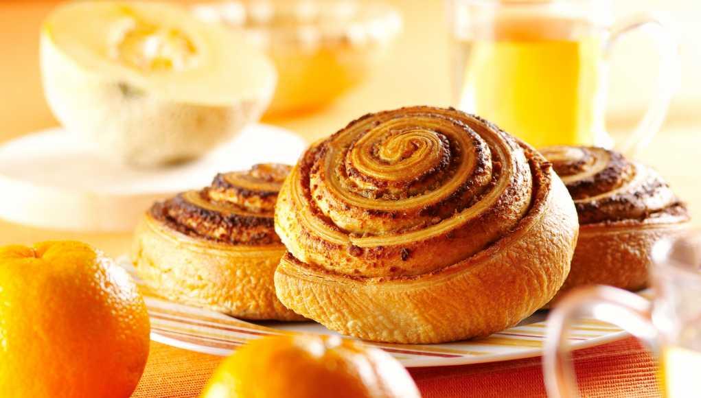 завтрак 6 булочки