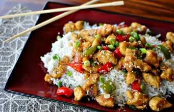 рецепт блюда из кунжута