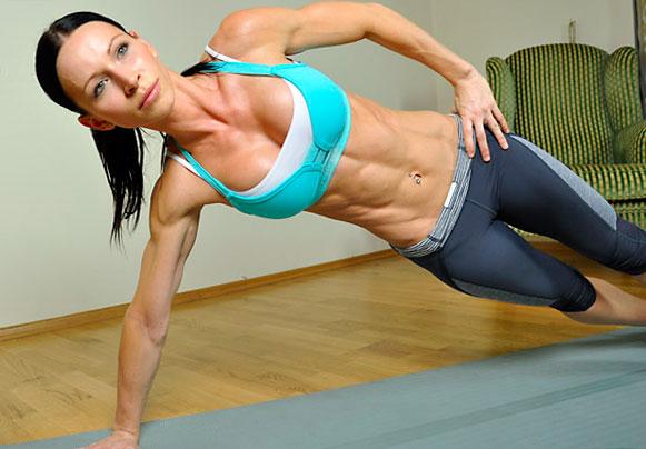 укрепляем мышцы кора
