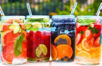 как приготовить воду с фруктами