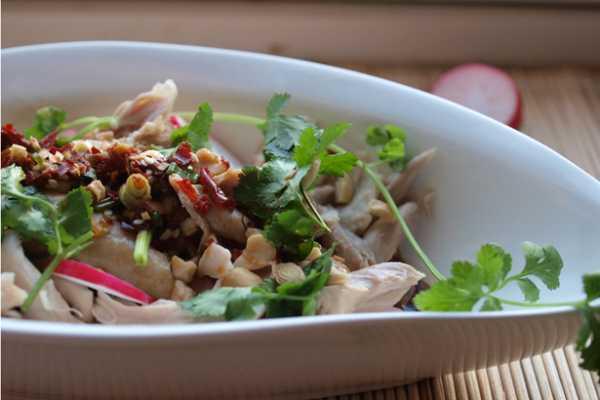 куриный салат с чатни