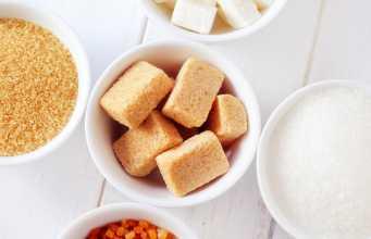 в каких продуктах содержится сахар