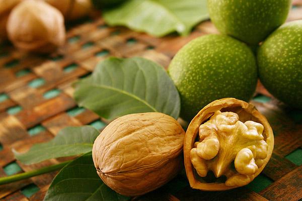 здоровые продукты орехи