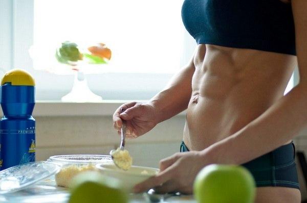 совмещайте питание и спорт