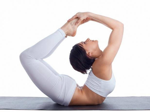 йога от вздутия