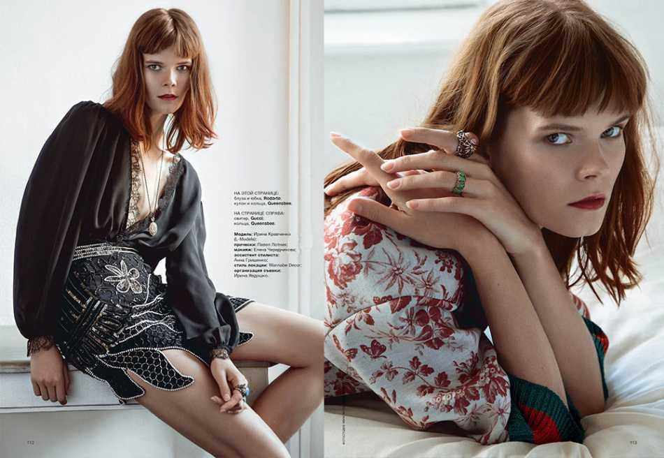 Ирина Кравченко модель