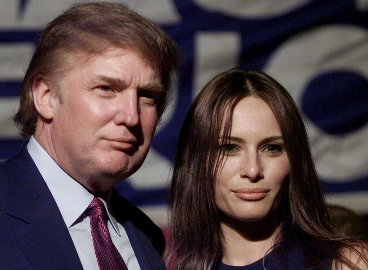Картинки по запросу мелания трамп в юности