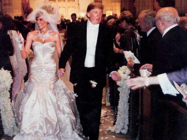 Мелания Трамп свадьба
