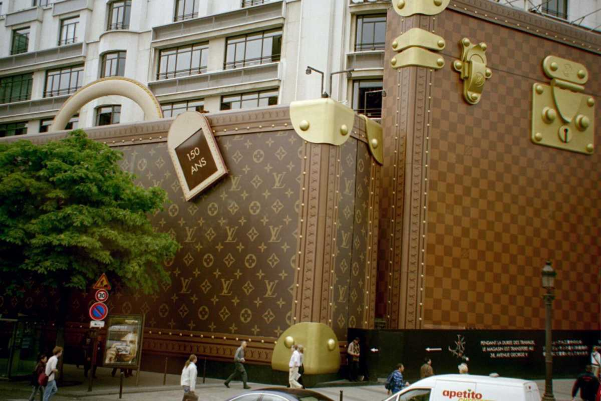 louis vuitton бутик